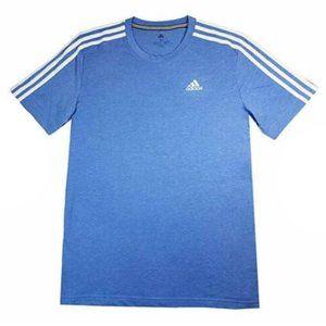 NEW Adidas Men's Climalite 3 Sripe T-Shirt